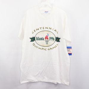 90s New Mens Large Atlanta '96 Olympics USA Shirt